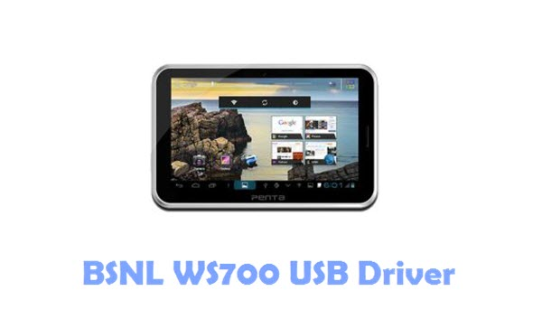 Download BSNL WS700 USB Driver