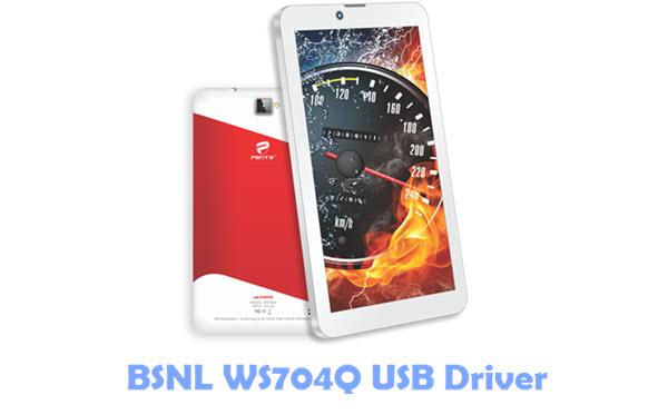 Download BSNL WS704Q USB Driver