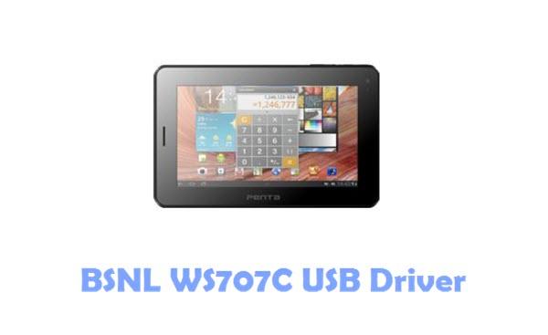 BSNL WS707C USB Driver