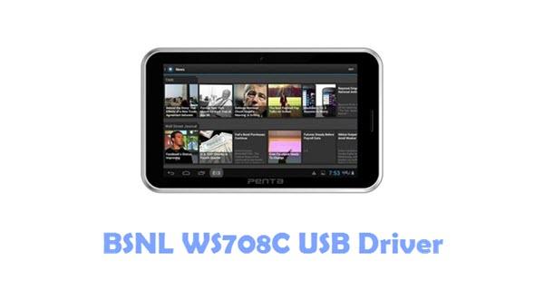 Download BSNL WS708C USB Driver