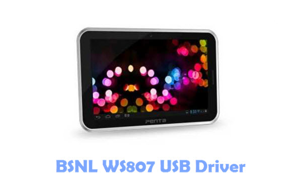 BSNL WS807 USB Driver