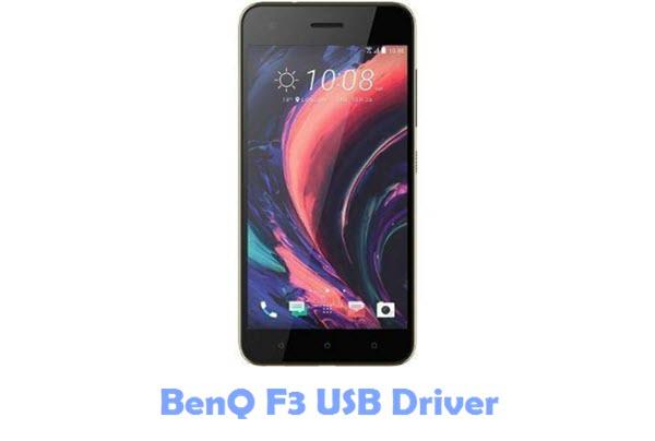 BenQ F3 USB Driver