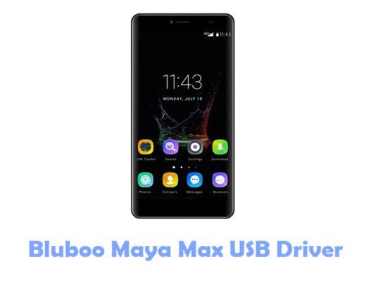 Bluboo Maya Max USB Driver