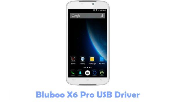 Download Bluboo X6 Pro USB Driver