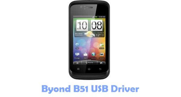 Byond B51 USB Driver