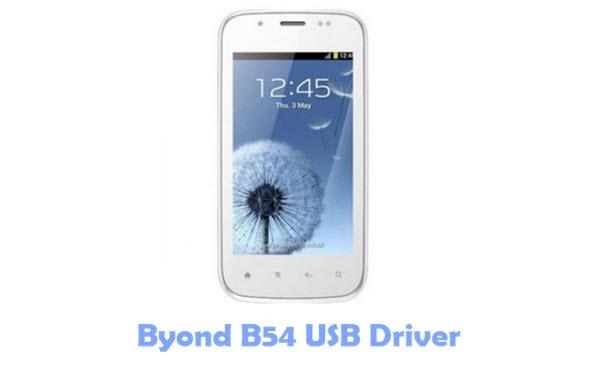 Byond B54 USB Driver