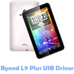 Download Byond L9 Plus USB Driver