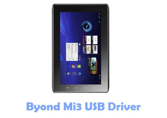 Download Byond Mi3 USB Driver