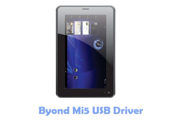 Download Byond Mi5 USB Driver