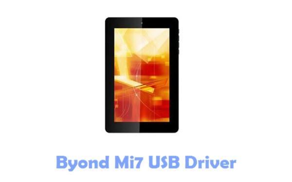 Download Byond Mi7 USB Driver