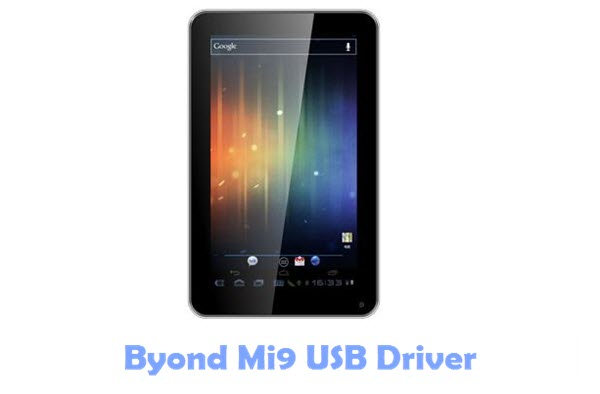 Download Byond Mi9 USB Driver
