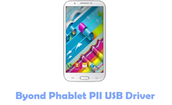 Byond Phablet PII USB Driver