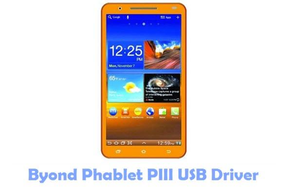 Download Byond Phablet PIII USB Driver
