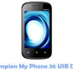 Download Champion My Phone 36 USB Driver