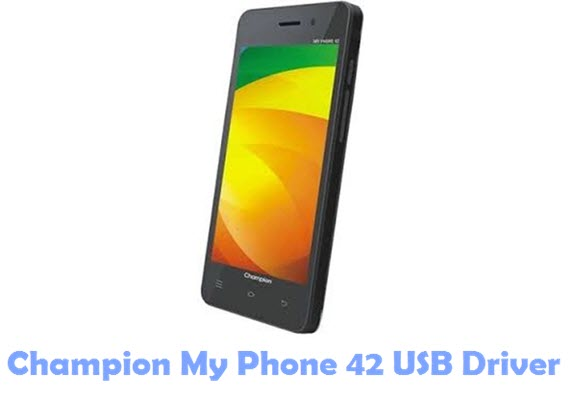 Download Champion My Phone 42 USB Driver