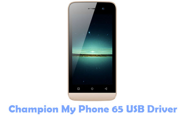 Download Champion My Phone 65 USB Driver