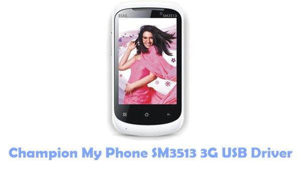 Download Champion My Phone SM3513 3G USB Driver
