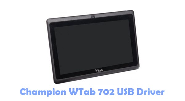 Download Champion WTab 702 USB Driver