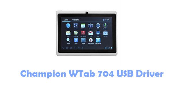 Download Champion WTab 704 USB Driver