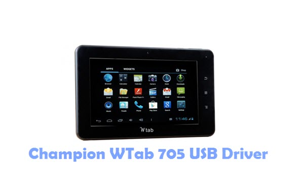 Download Champion WTab 705 USB Driver