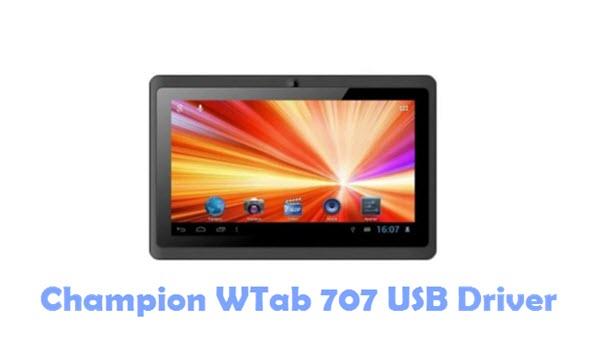 Download Champion WTab 707 USB Driver