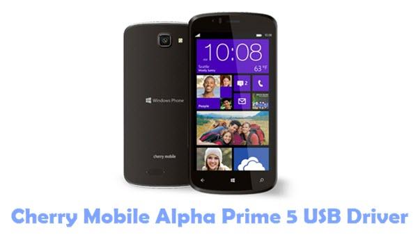 Cherry Mobile Alpha Prime 5 USB Driver