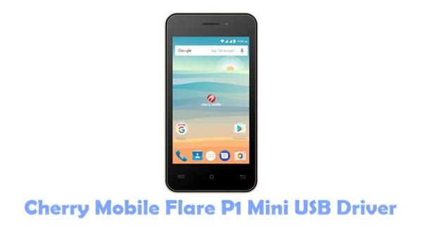 Cherry Mobile Flare P1 Mini USB Driver