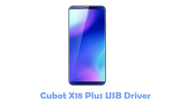 Cubot X18 Plus USB Driver
