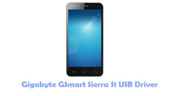 Gigabyte GSmart Sierra S1 USB Driver