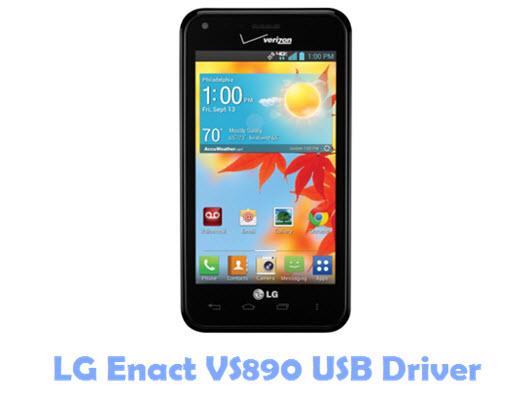 Download LG Enact VS890 USB Driver