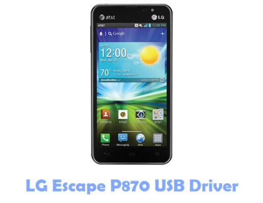 Download LG Escape P870 USB Driver