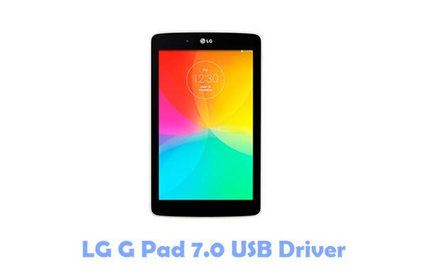 Download LG G Pad 7.0 USB Driver