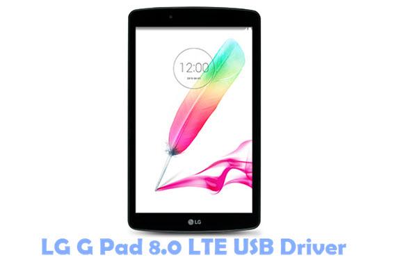 Download LG G Pad 8.0 LTE USB Driver