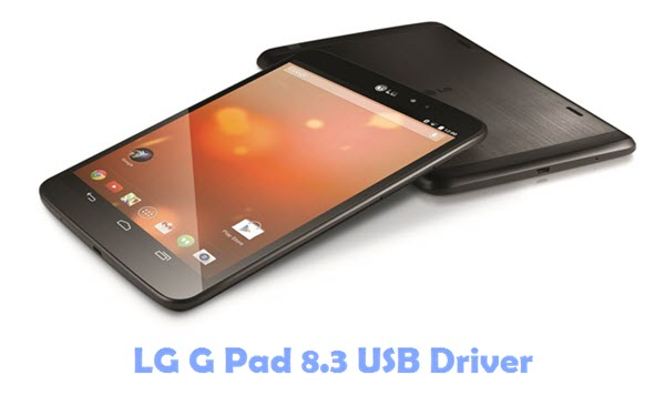 Download LG G Pad 8.3 USB Driver