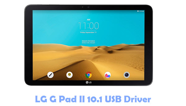 Download LG G Pad II 10.1 USB Driver