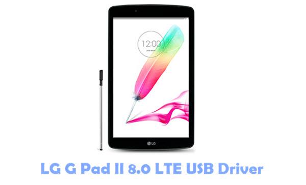 Download LG G Pad II 8.0 LTE USB Driver