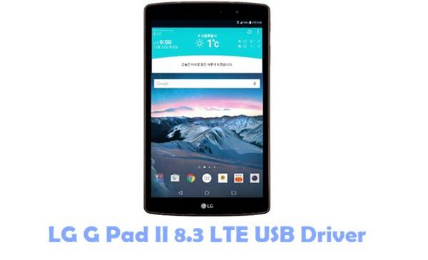 Download LG G Pad II 8.3 LTE USB Driver