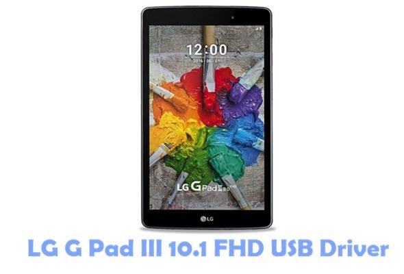 Download LG G Pad III 10.1 FHD USB Driver