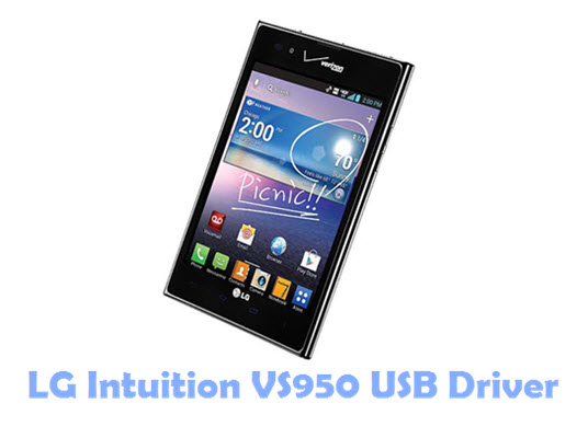 Download LG Intuition VS950 USB Driver