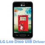 LG L40 D160 USB Driver