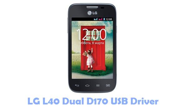 Download LG L40 Dual D170 USB Driver