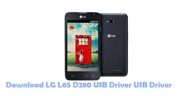 Download LG L65 D280 USB Driver