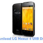 LG Nexus 4 USB Driver