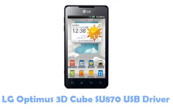 Download LG Optimus 3D Cube SU870 USB Driver