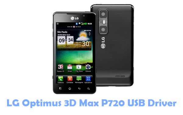 Download LG Optimus 3D Max P720 USB Driver