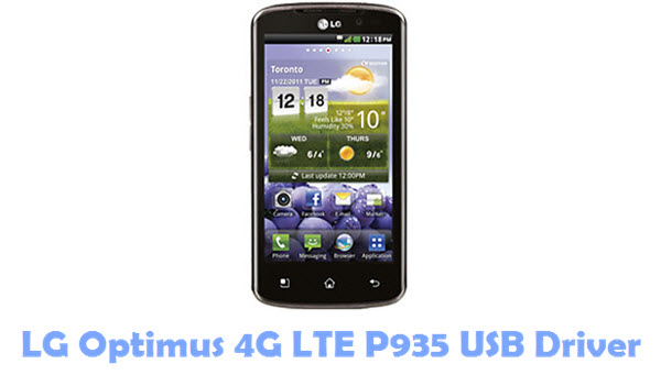 Download LG Optimus 4G LTE P935 USB Driver