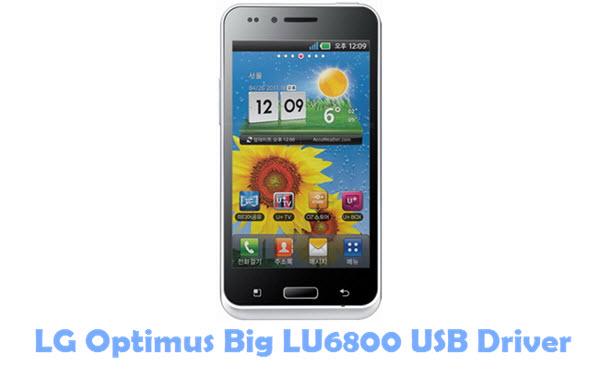 Download LG Optimus Big LU6800 USB Driver