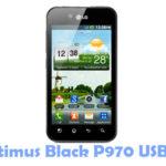 LG Optimus Black P970 USB Driver