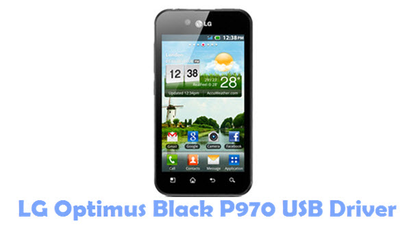 LG Optimus Black P970 USB Driver
