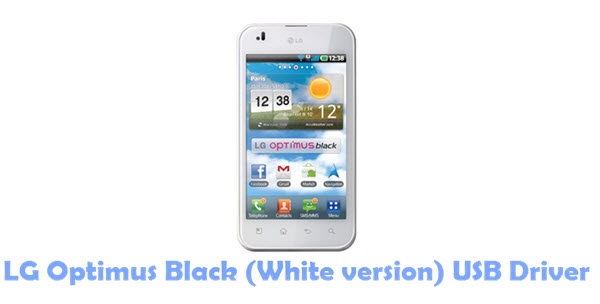 Download LG Optimus Black (White version) USB Driver